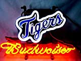Desung Brand New 14''x10'' B udweiser Sports League D-Tigers Neon Sign (Various Sizes) Beer Bar Pub Man Cave Glass Neon Light Lamp BW79