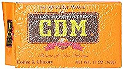 CDM Decaffeinated Coffee & Chicoy (2 Pack)