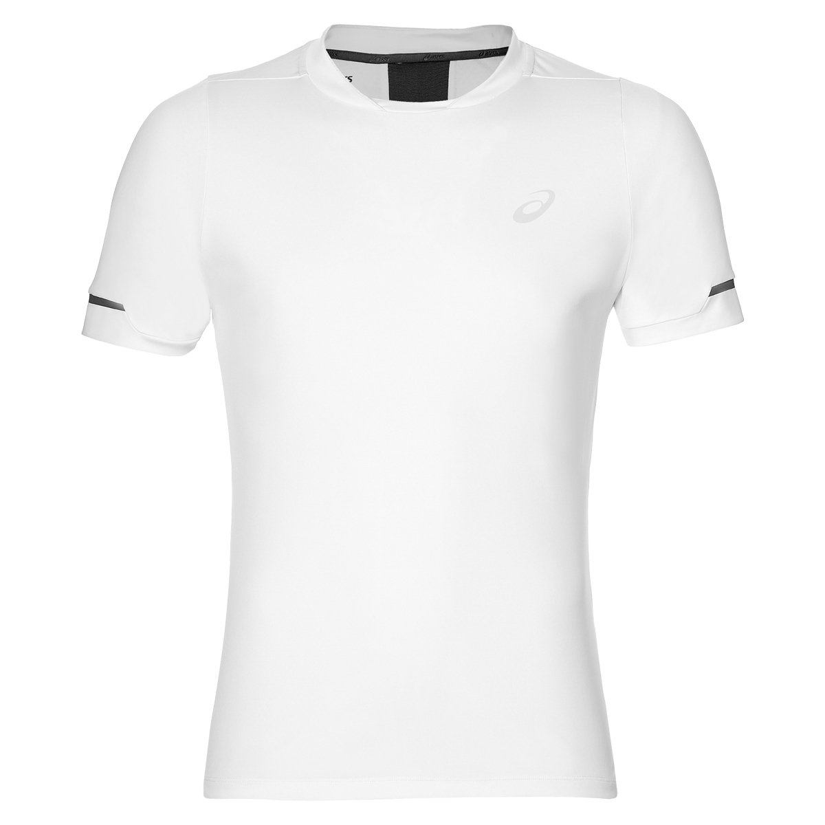 ASICS Herren Athlete Shortsleeve Top Men T-Shirts, weiß, S