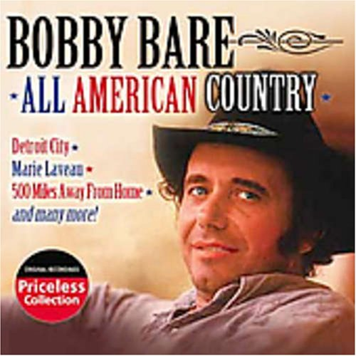 CD : Bobby Bare - All American Country (CD)
