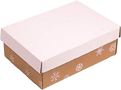 Kartox | Caja con estampado Navidad | Caja con tapa para regalos ...