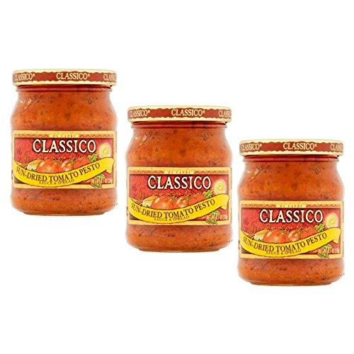 Classico Signature Recipes Sauce & Spread Sun-Dried Tomato Pesto, 8.1 oz (pack of 3)
