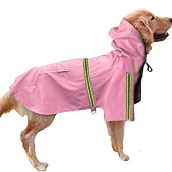 DINGG Animal doméstico Perro Grande Impermeable Impermeables ...
