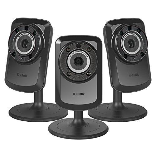 3 PACK D-Link Home Surveillance Wireless Day/Night WiFi Network Camera DCS-934L