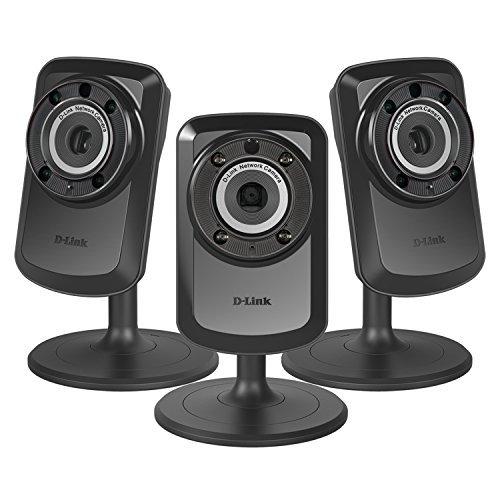 3 PACK D-Link Home Surveillance Wireless Day/Night WiFi Netw