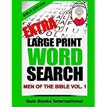 Extra Large Print Word Search Men Of The Bible Vol. 1