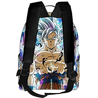 Ddragon Ball Black Backpack Zipper School Bag Travel Daypack Unisex Adult Teens Gift: Computers & Accessories