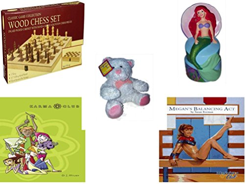 Girl's Gift Bundle - Ages 6-12 [5 Piece] - Classic Wood