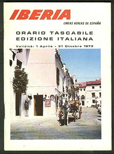iberia-lineas-aereas-de-espana-airline-timetable-in-italian-4-1-10-31-1973