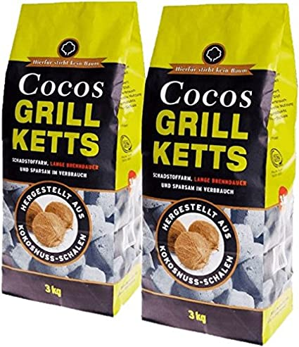 Sans go/ût 20 kg BLACK STONE Briquettes de charbon de noix de coco pour narguil/é et grill sans odeur faible teneur en cendres longue dur/ée de combustion