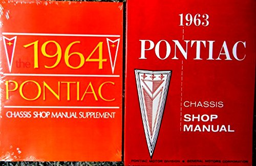 (A MUST FOR OWNERS, MECHANICS & RESTORERS - THE 1964 PONTIAC SET OF FACTORY REPAIR SHOP & SERVICE MANUALS - Includes Catalina, Star Chief, Bonneville, Grand Prix, and wagons - 64)