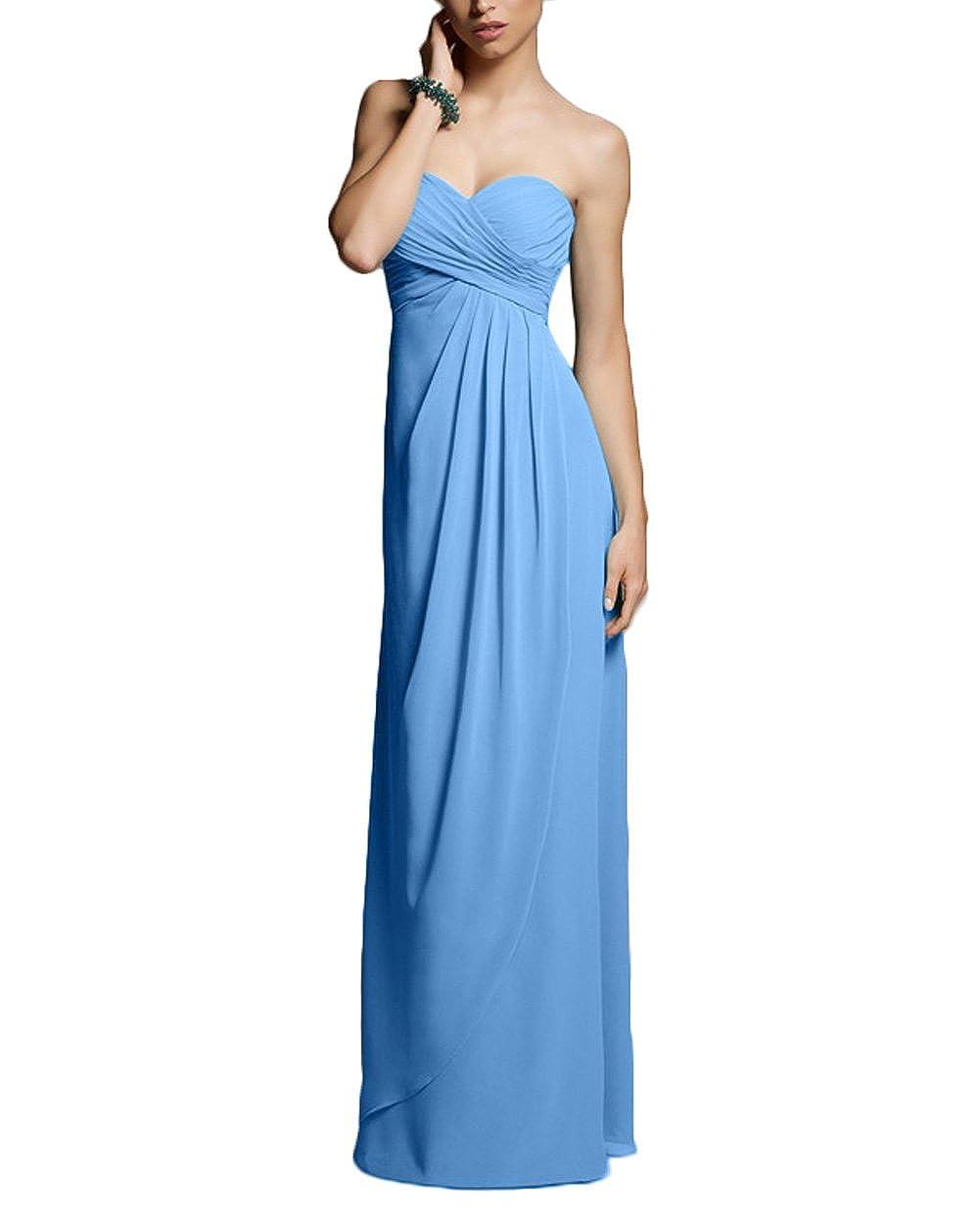 CaliaDress Women Sweetheart Long Bridesmaid Dress Formal Gowns C282LF