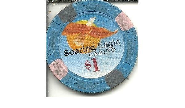 Amazon Com 1 Soaring Eagle Dark Blue Indian Casino Chip
