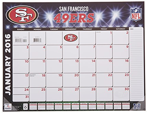 San Francisco 49ers Desk Calendars Price Compare
