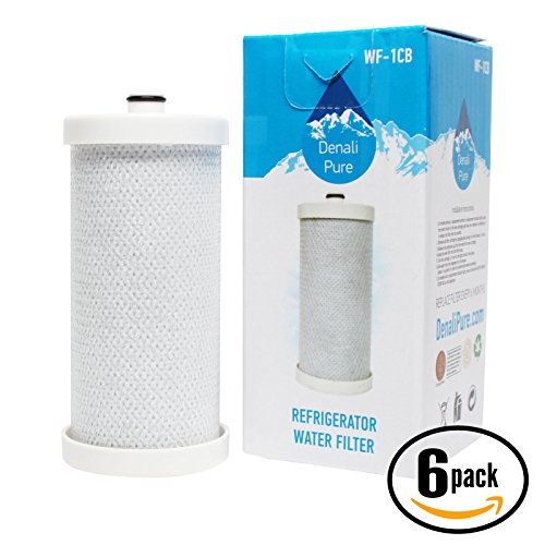 6-Pack Replacement Frigidaire 240394501 Refrigerator Water Filter - Compatible Frigidaire 240394501 Fridge Water Filter Cartridge by UpStart Battery