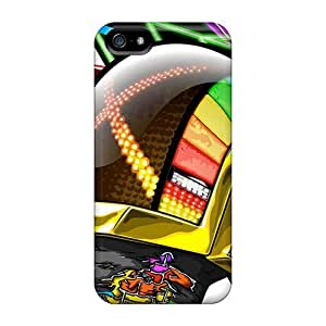 Premium Protection Daft Punk Case Cover For Iphone 5/5s- Retail Packaging