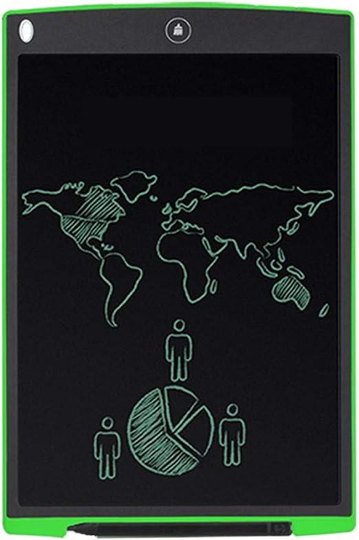 ライティングタブレットPaulclub Howshow 12インチ液晶圧力センシングE-注ペーパーレスライティングタブレット/ライティングボード(ブラック) ZHOUKOULIUCANGSHANGMAO (Color : Green)