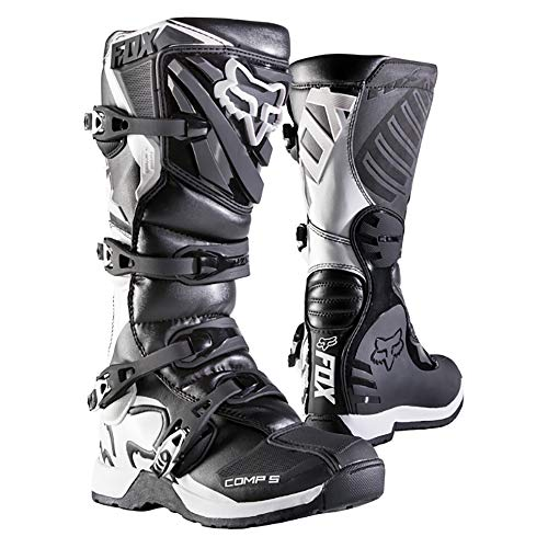 Fox Racing 2019 Youth Comp 5 Boots (8) (Black) ()