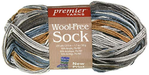 Premier Yarns Neutral Wool-Free Sock Yarn