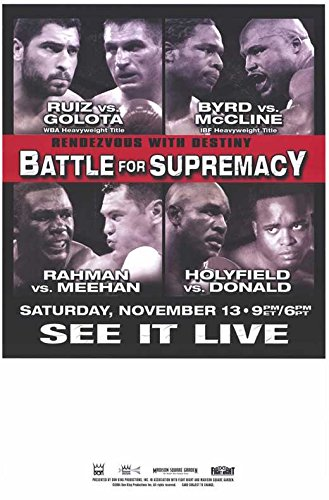 (Evander Holyfield vs. Larry Donald POSTER Movie (11 x 17 Inches - 28cm x 44cm) (2004))
