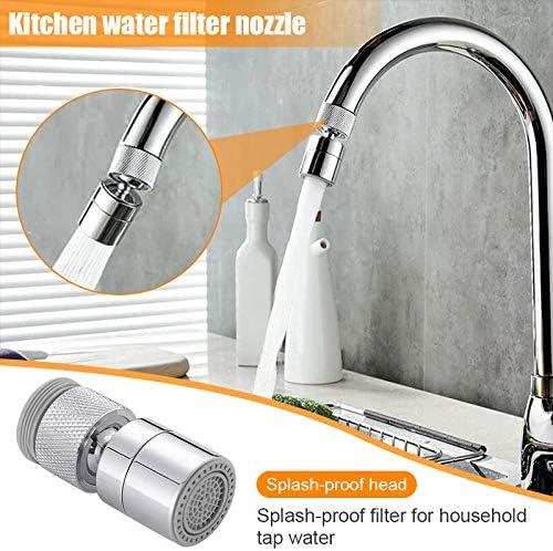 Spritzfester Filter f/ür K/üche Badezimmer Christophy Druckwasserhahnfilter