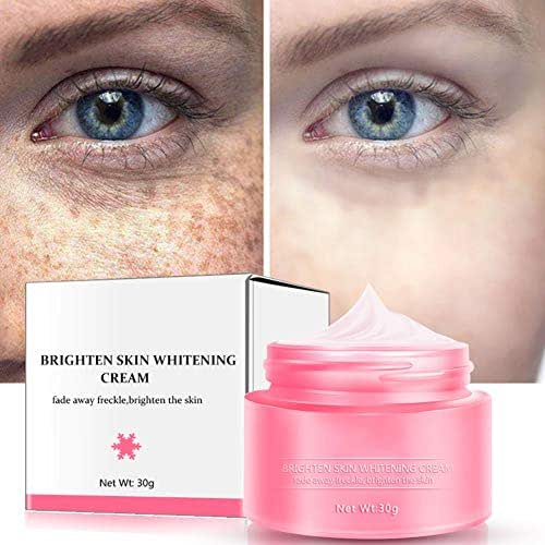 Face Whitening Cream,ColorfulLaVie 30g Skin Whitening Freckles Melasma Face Cream Premium Anti-Aging, Skin Whitening, Moisturizing and Anti-Pigmentation Cream for All Skin Types