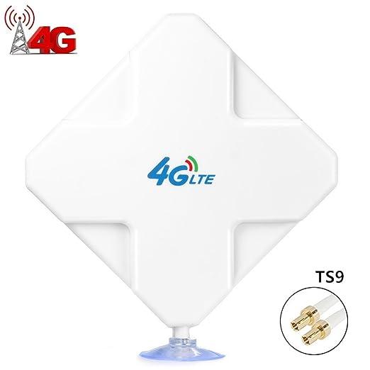 24 opinioni per TS9 4G LTE Antenna alte Prestazioni 35dBi. Amplifica il Segnale Ethernet con