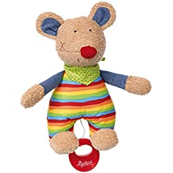 Sigikid Sigikid41535 23 x 13 x 11 cm Colin Colour Musical Mouse Toy