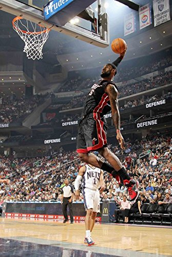 Amazoncom Lebron James Poster Kingdunklittle Emperor