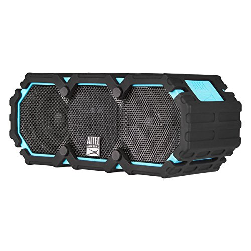 Altec Lansing IMW577-AB Lifejacket 2 Bluetooth Speaker, IP67 Waterproof, Shockproof, Snowproof, Everything-Proof Rating, 30-Foot Range, 16 Hours Of Battery Life, Aqua Blue by Altec Lansing (Image #3)