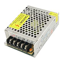 Switch Power Supply - SODIAL(R) AC 110-220V DC 24V 2A 48W Switch Power Supply Transformer for LED Strip Light