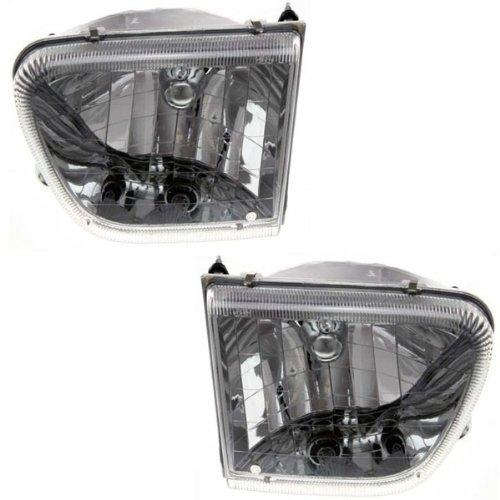 1998-1999-2000-2001-mercury-mountaineer-headlight-headlamp-front-head-lamp-light-set-pair-left-drive