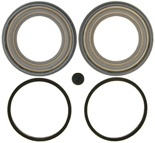 ACDelco 18H1255 Professional Rear Disc Brake Caliper Boot and Seal Kit with Boots, Seals, and - Seal Brake Caliper Rear