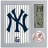 Wincraft WIN-0892871 New York Yankees MLB Team Desk Clock