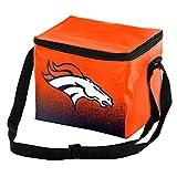 Forever Collectibles NFL Unisex Gradient Print Lunch Bag Coolergradient Print Lunch Bag Cooler, Denver Broncos, Standard