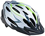 Schwinn Traveler Adult Bicycle Helmet, White/Green