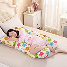 Honghetai Maternity Pregnant women pillow Total Body Pillows (e)