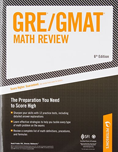 ARCO GRE/GMAT Math Review 6th Edition (Gre Gmat Math Review)