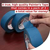 XFasten Professional Blue Painters Tape, Edge