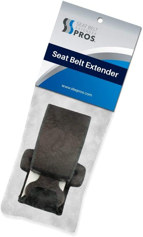 Buckle Up and Drive Safely 7//8 Inch Wide Metal Tongue, Type A Black, 1-Pack Seat Belt Extender Pros E4 Safe Certified Regular 7 Inch Seat Belt Extender