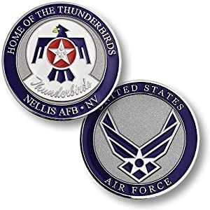 Nellis Air Force Base - Thunderbirds Challenge Coin