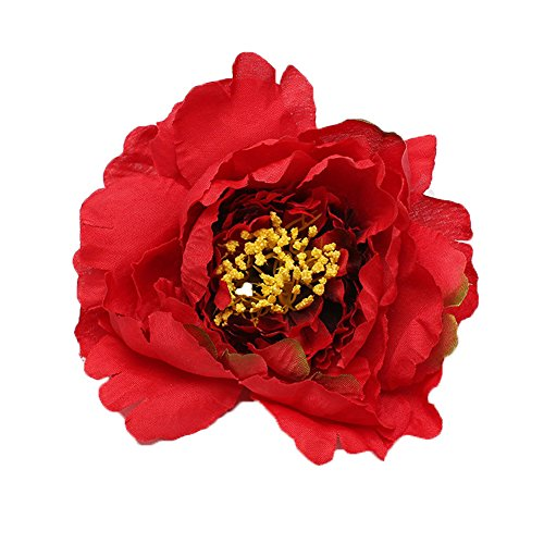 RoyaLily 4.7 Poney Flower Wedding Hair Accessories Festival Hair Clips and Pin Party Brooch