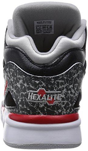 Reebok Pump Omni Lite - Zapatillas unisex Multicolor (black/rivet grey/steel/red rush/white)