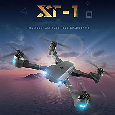 Cewaal Hanbaili XT-1 Gravity Sensor Folding Drone + Storage Package,Hand Throwing Take Off Altitude Hold Drone with Headless Mode for Kids from Cewaal