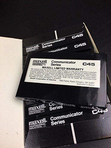 Maxell communicator series C45. 10 pack by Maxell (Image #3)