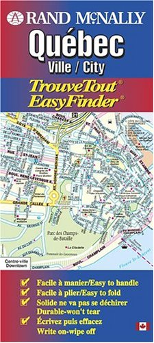 Rand McNally Quebec Ville/City: TrouveTout EasyFinder
