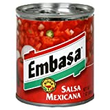 Embasa Salsa Mexicana, 7-Ounce Cans (Pack of 12)