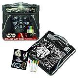 Star Wars Darth Vader Rolling Art Desk - Multi-Colored TRG
