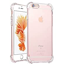 """iPhone 7 Case,ibarbe Premium Slim Fit Crystal clear Perfect slim Fit Shockproof Protective Impact Resistant Anti-scratches Heavy Duty Protection TPU Bumper Cover for Apple iPhone 7 4.7"""" (2016)"""