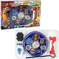 3T6B Peonzas con Lanzador Conjunto, 4 Gyro Spinners